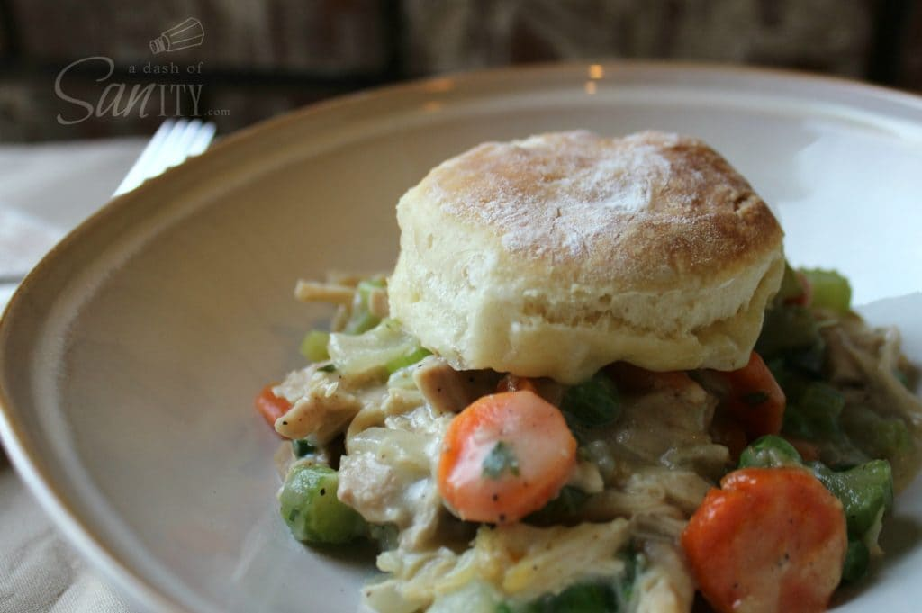 Biscut Chicken Pot Pie