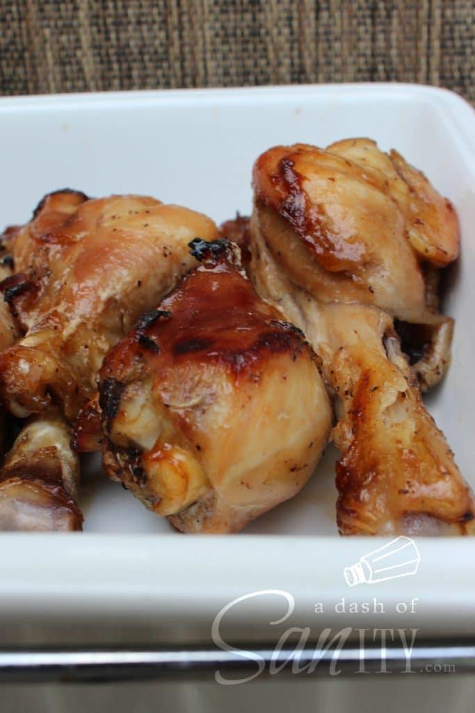 honey-soy baked chicken