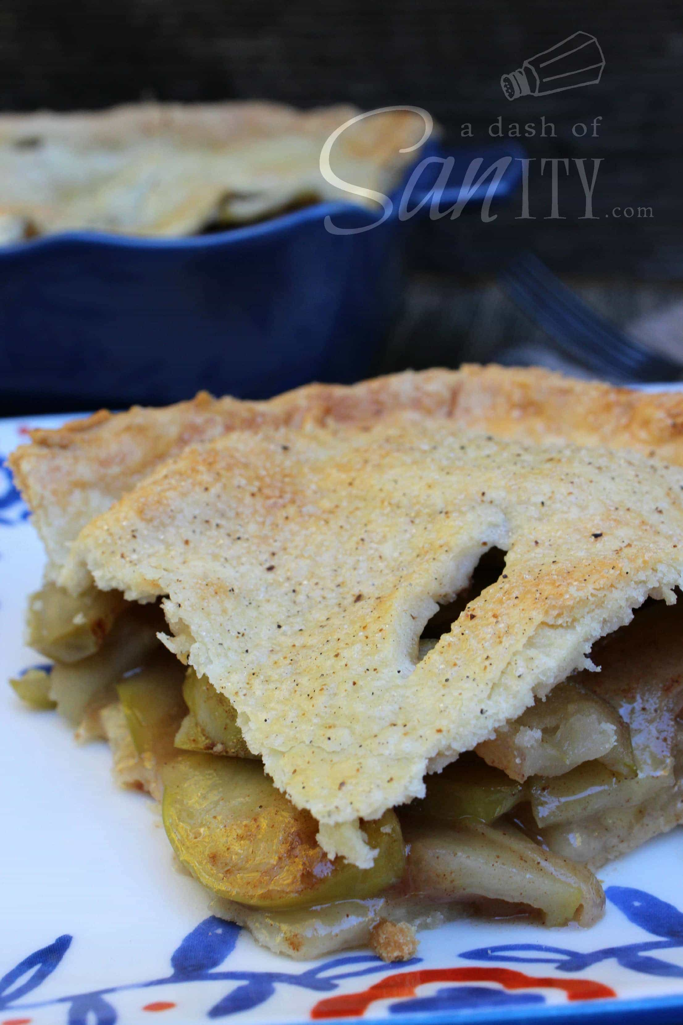 Maple Apple Pie is a twist on classic apple pie. With a homemade crust and a sweet maple-glazed apple filling, this is a perfect dessert any time of year.