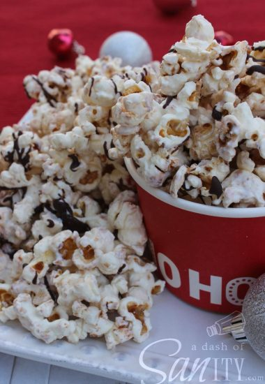 Cinnamon White Chocolate Kettle Corn