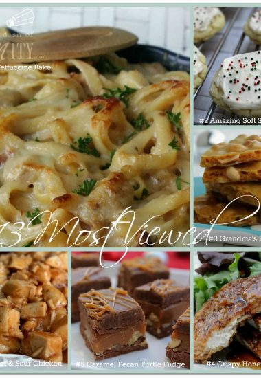 A Dash of Sanity's 2013 Top 6 Viewed Recipes