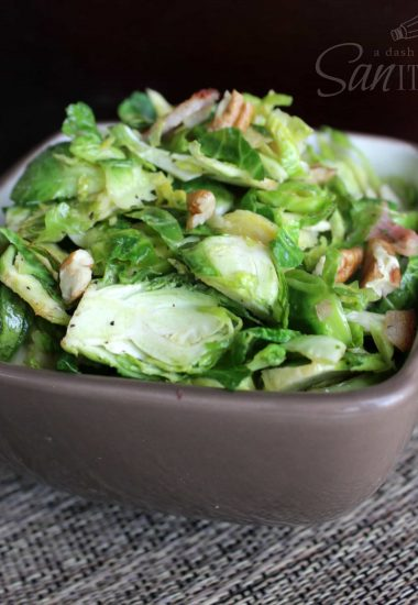 Bacon and Walnut Brussel Sprouts