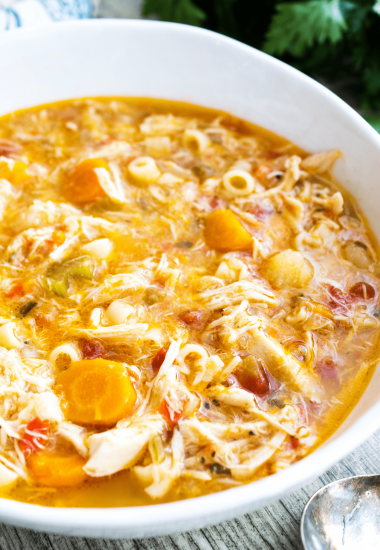 Sicilian Chicken Soup