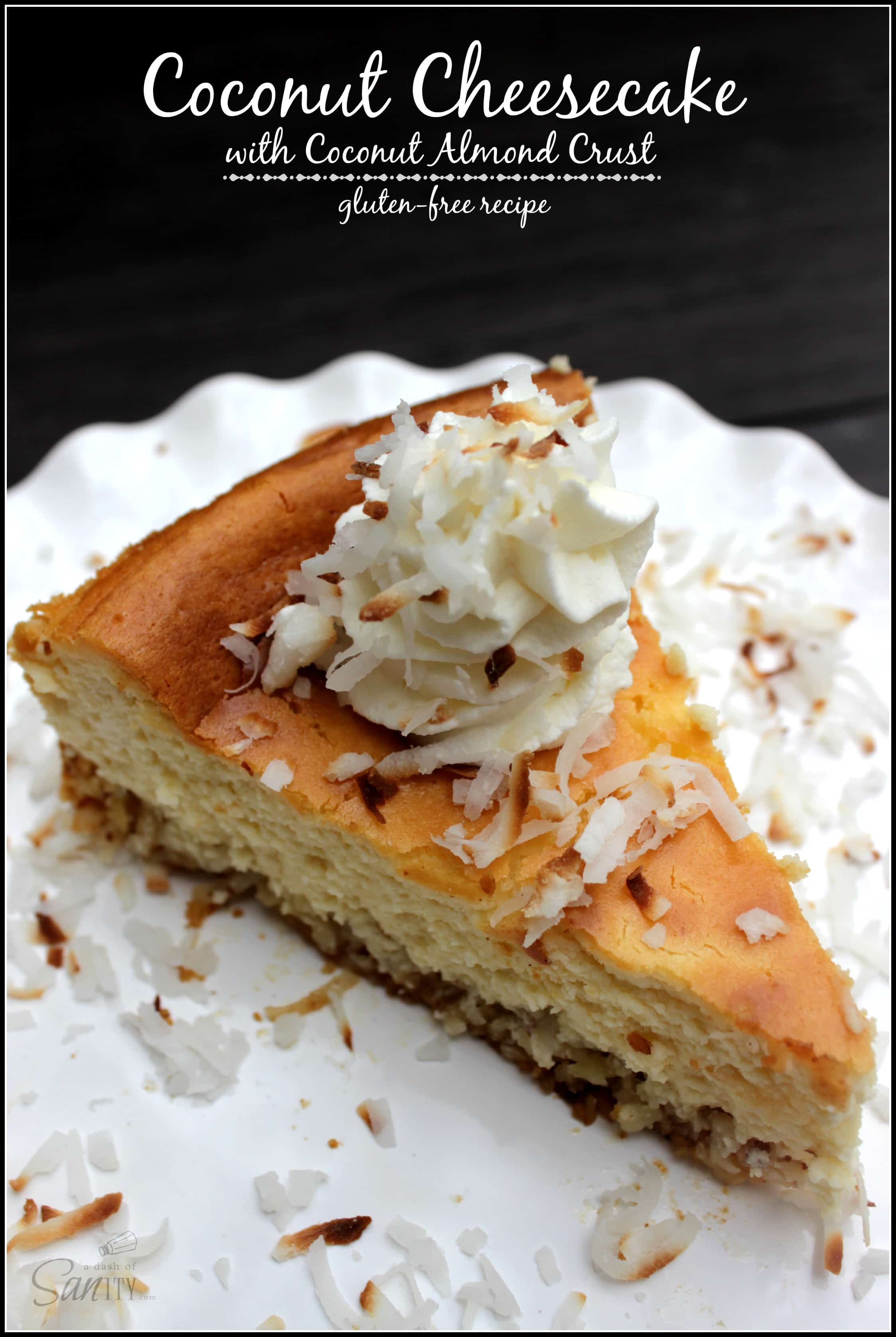 amazon giveaway dashboard coconut cheesecake with coconut almond crust 550 amazon 4776