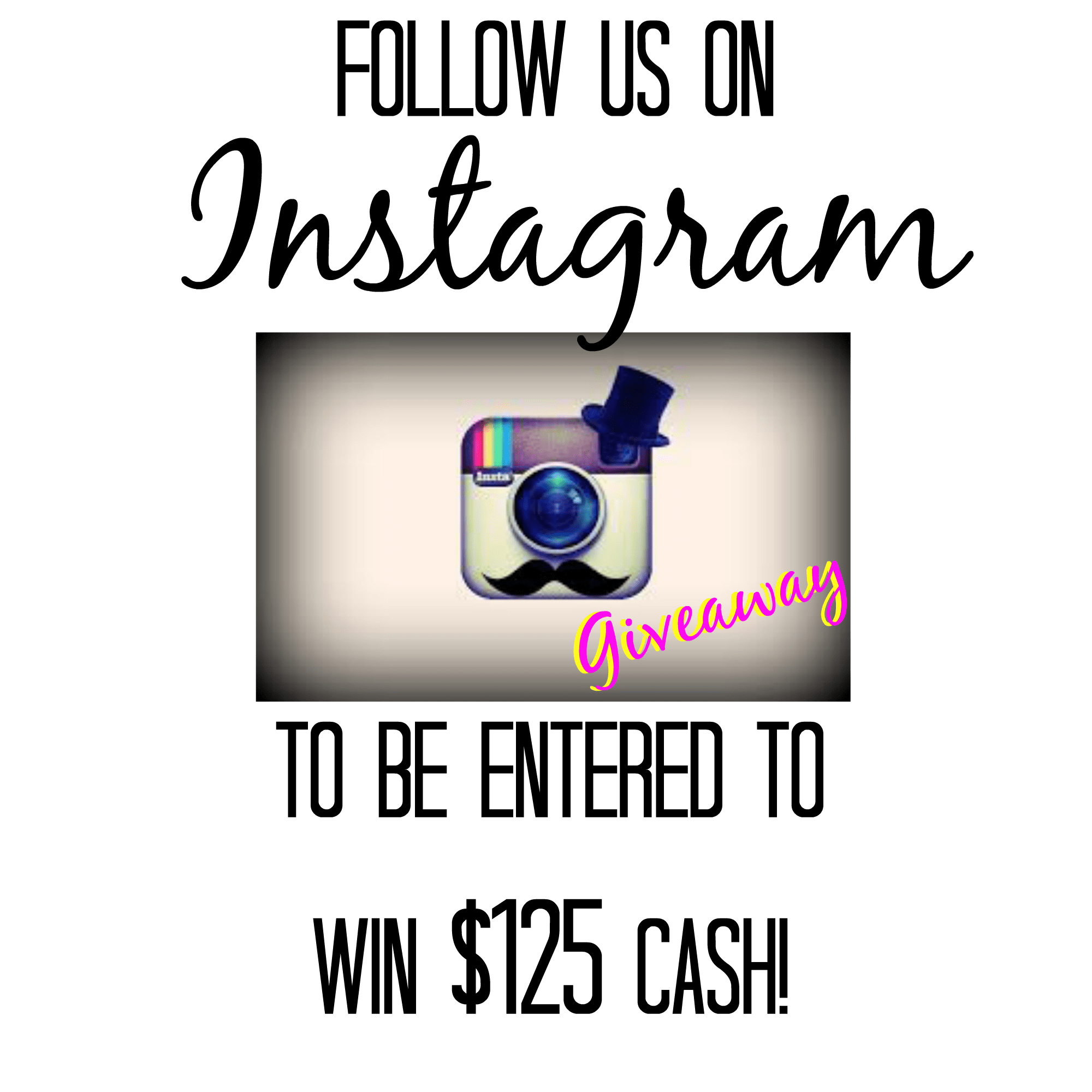 $125 Instagram Giveaway | ENTER TO WIN - A Dash of Sanity