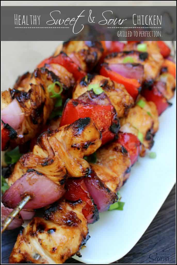 Healthy Sweet Sour Chicken Grilled To Perfection