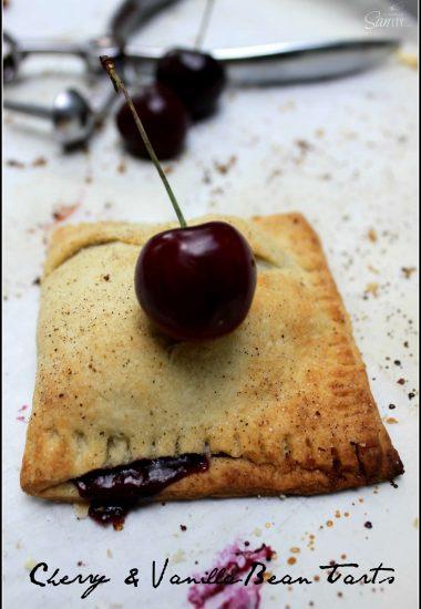 Cherry & Vanilla Bean Tart