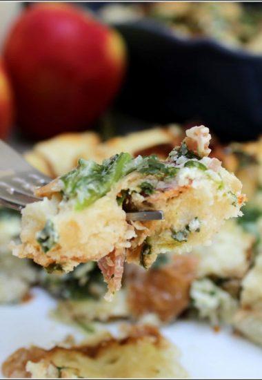 Simple Egg White Breakfast Casserole