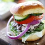 Greek-Stuffed-Burgers
