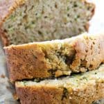 This BEST EVER ZUCCHINI BREAD recipe comes from my grandma, so naturally there isn't a better zucchini bread recipe out there.