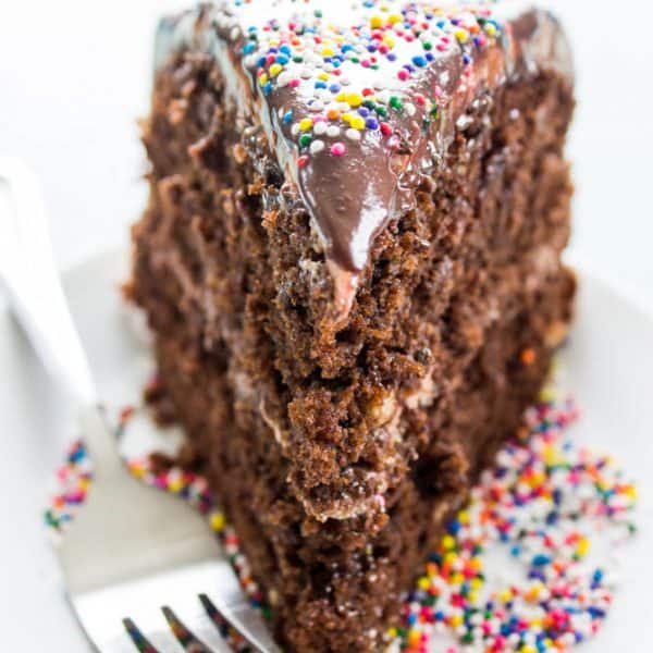 Double Chocolate Nutella Cake