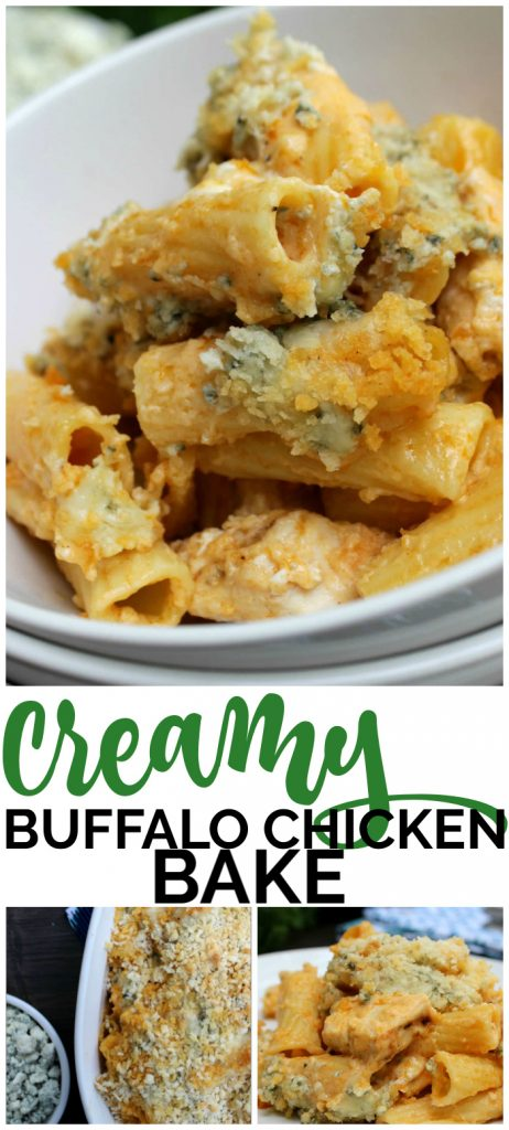 Creamy Buffalo Chicken Bake pinterest image