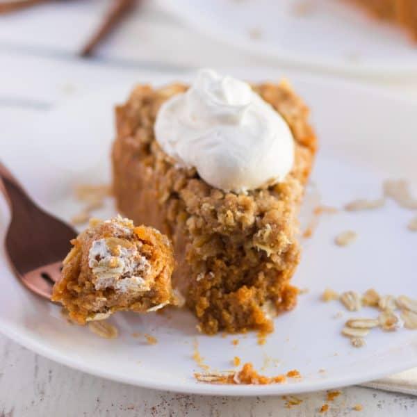 Pumpkin Crisp Pie