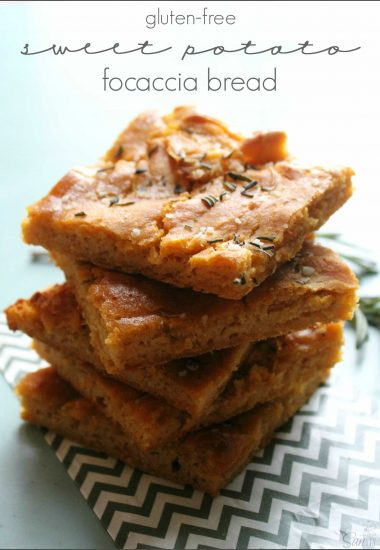 Gluten-Free Sweet Potato Focaccia Bread