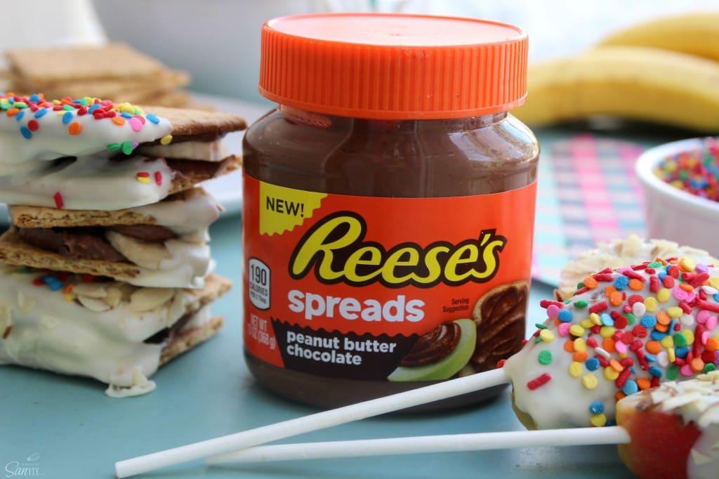 reese's spreads snacks