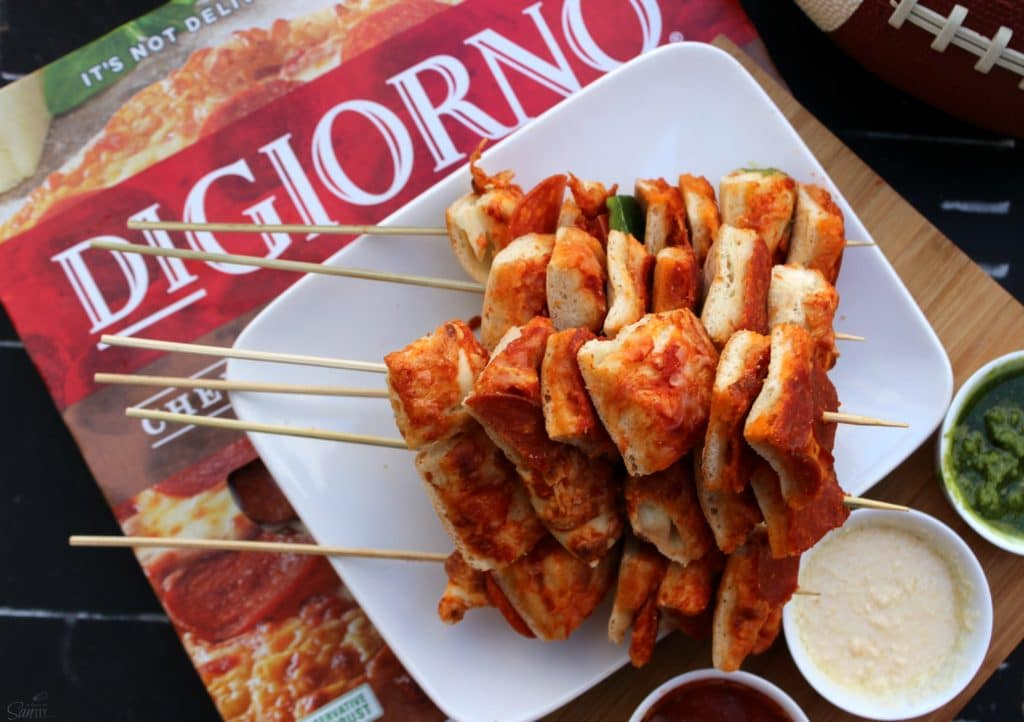 Pizza Kabobs box digiorno