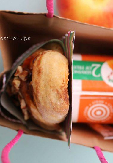 Egg, Ham & Cheese Sweet & Savory Breakfast Roll Ups