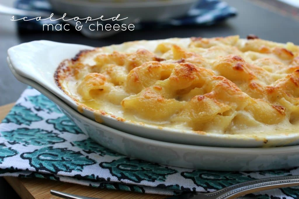 Scalloped Mac & Cheese view