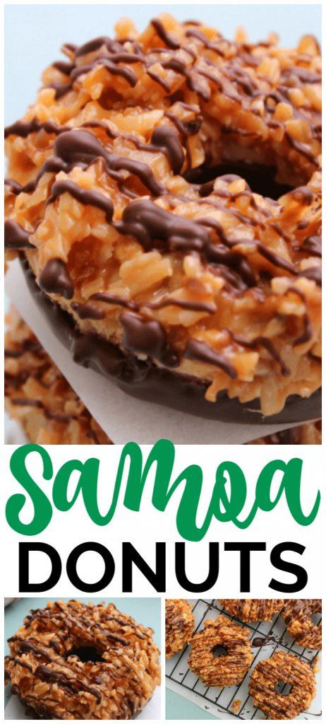 Samoa Donuts pinterest image