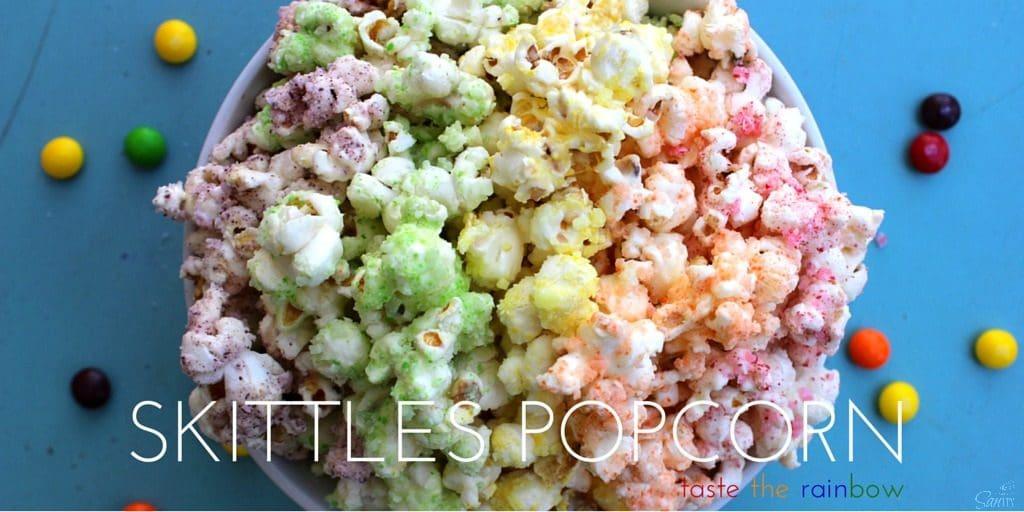 Skittles Popcorn Twitter