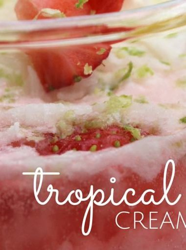 Tropical Italian Cream Soda
