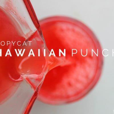 Copycat Hawaiian Punch