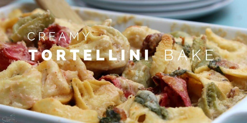 Creamy Tortellini Bake Twitter