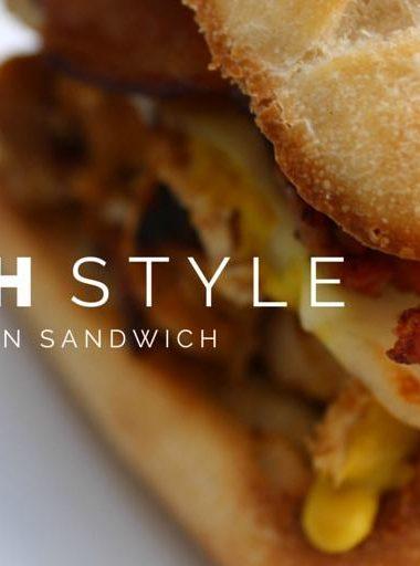 "Grilled ""Ranch"" Style Chicken Sandwiches"