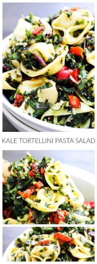 Kale Tortellini Salad PIN long