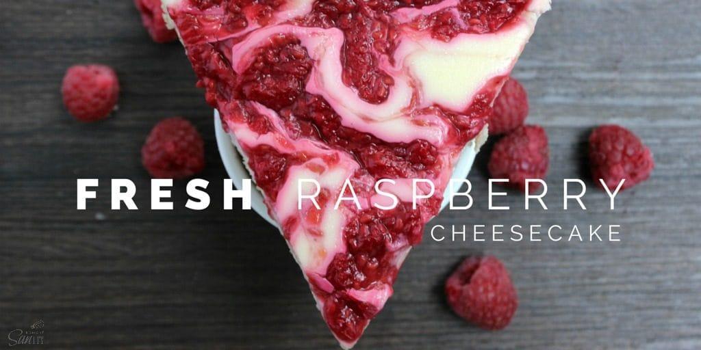 Light Fresh Raspberry Cheesecake Twitter