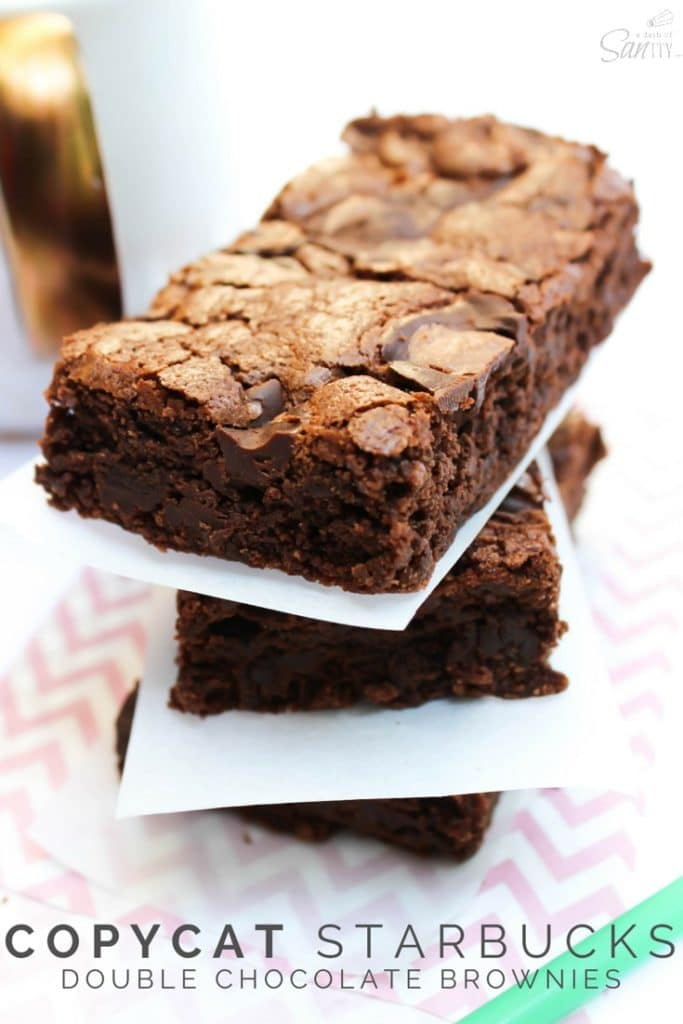 Copycat Starbucks Double Chocolate Brownie Pin