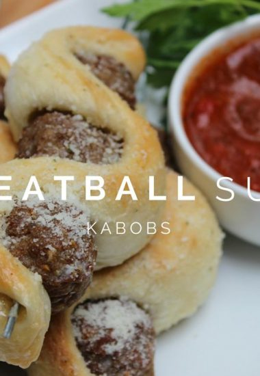 Meatball Sub Kabobs