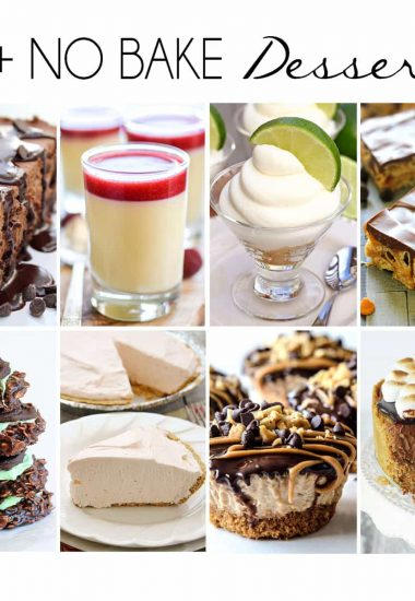 20+ No-Bake Cheesecake Desserts