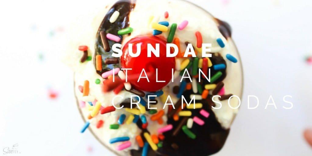 Sundae Italian Cream Soda Twitter