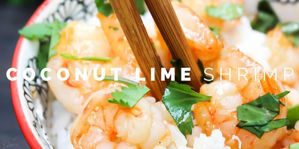Coconut Lime Shrimp Twitter
