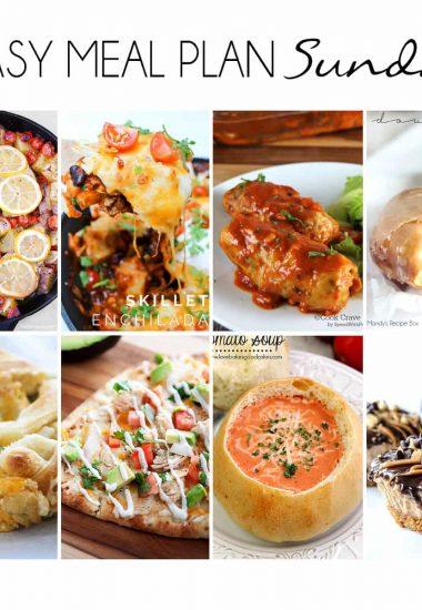 Easy Meal Plan Sunday {Week 10}