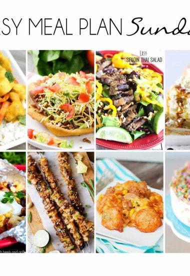 Easy Meal Plan Sunday {Week 6}