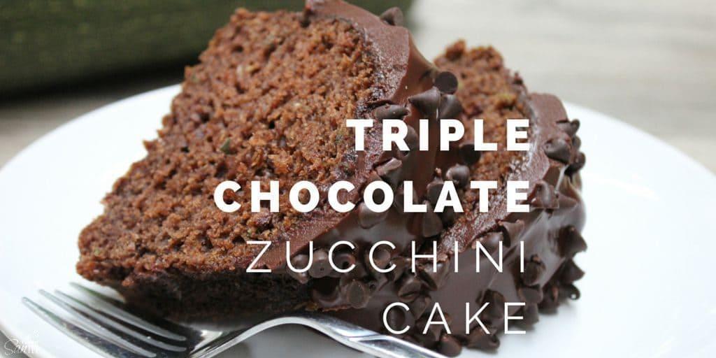 Triple Chocolate Zucchini Cake Twitter