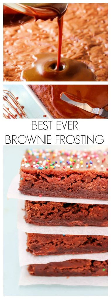 Best Ever Brownie Frosting LONG PIN