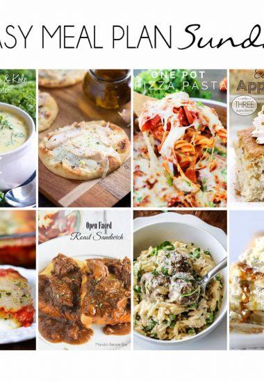 Easy Meal Plan Sunday {Week 11}