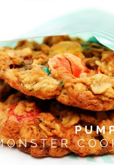 Pumpkin Monster Cookies