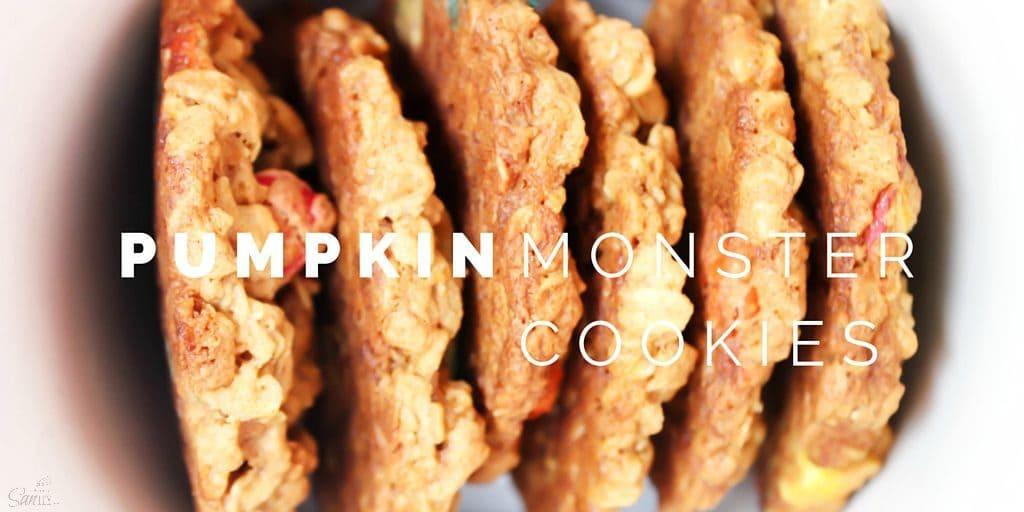 Pumpkin Monster Cookies Twitter
