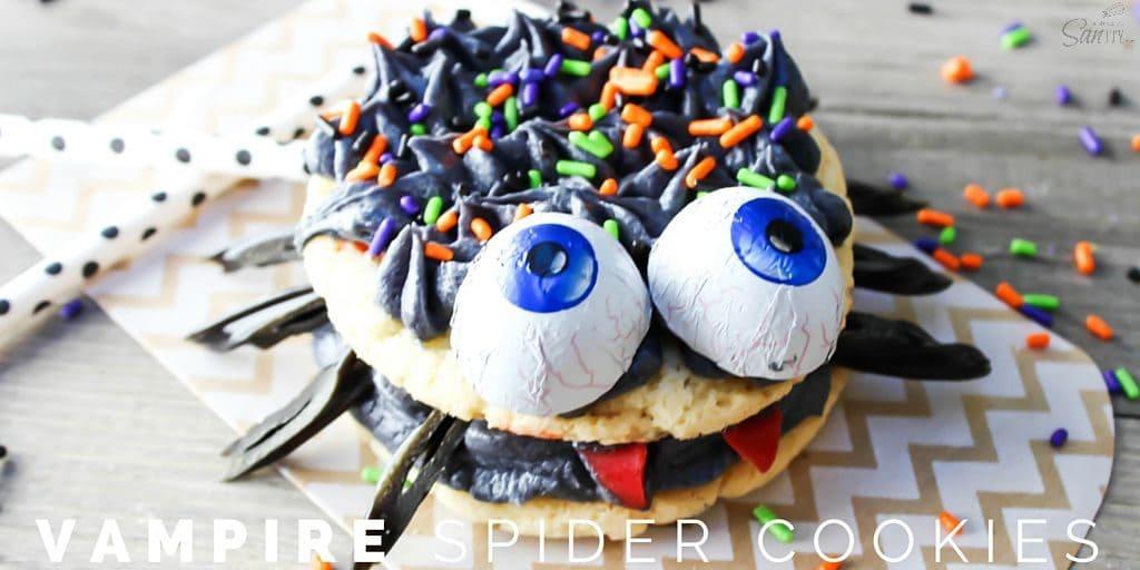 Vampire Spider Cookies Twitter