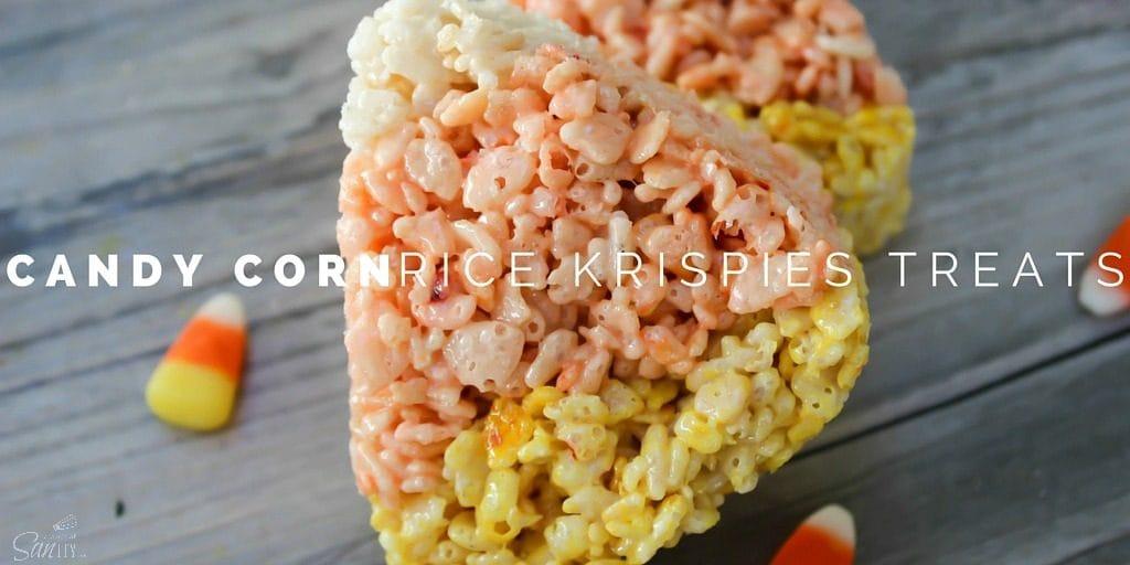 Candy Corn Rice Krispie Treats Twitter