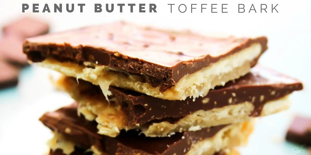 Peanut Butter Toffee Bark Twitter