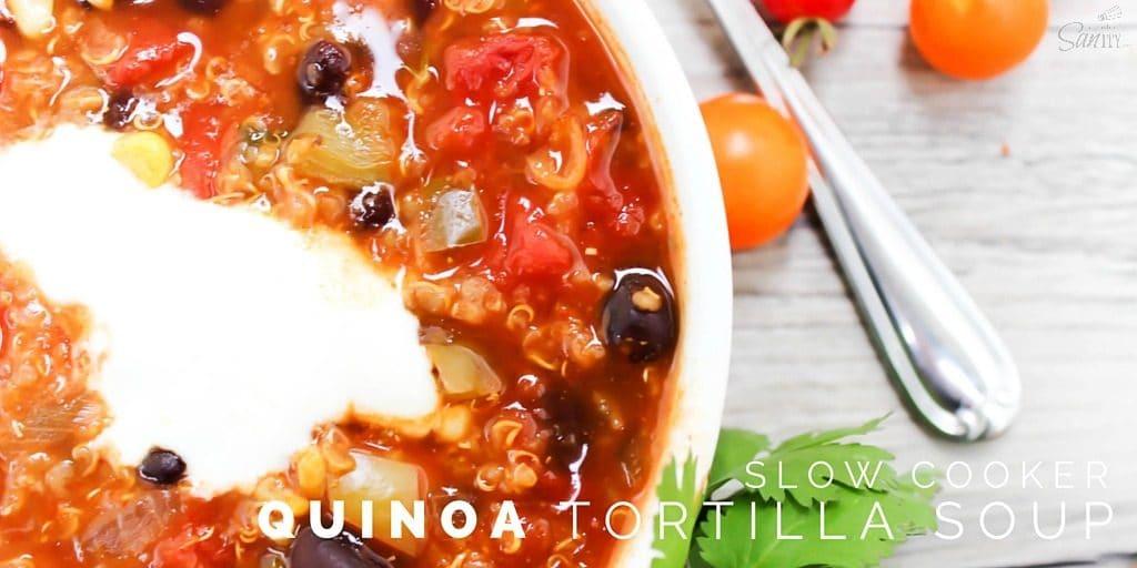 Quinoa Tortilla Soup Twitter