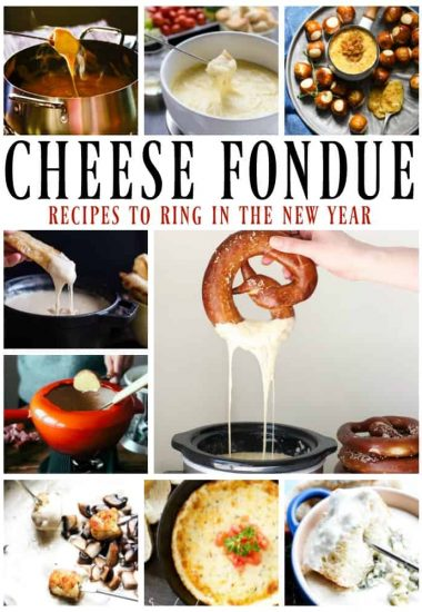 13 Festive Cheese Fondues