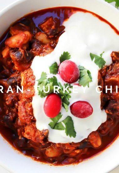 Cran-Turkey Chili