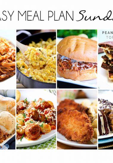 Easy Meal Plan Sunday {Week 19}