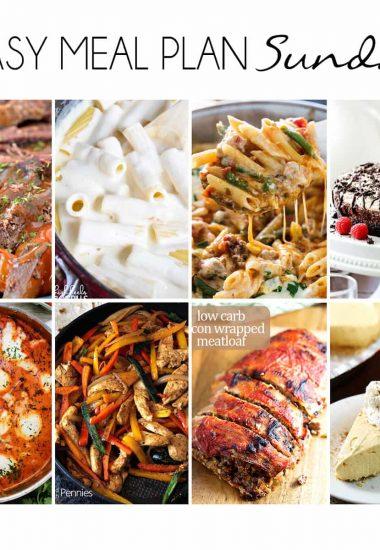 Easy Meal Plan Sunday {Week 20}